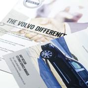 Volvo flyer design