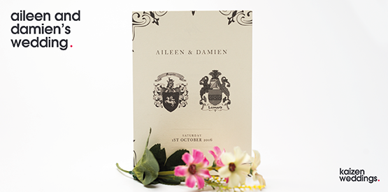 Happy Wedding Day Aileen and Damien!